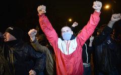 Участники народного схода в Бирюлево Западное © РИА Новости, Рамиль Ситдиков