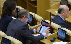 Депутаты на заседании российского парламента © РИА Новости, Владимир Федоренко