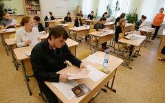 Сдача ЕГЭ © РИА Новости, Алексей Филиппов