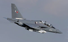 Самолет Як-130. Фото с сайта mil.ru