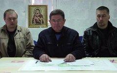 Анатолий Визир (в центре). Сто-кадр с видео в YouTube
