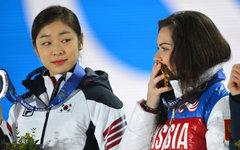 Ким Ю На и Аделина Сотникова © РИА Новости, Владимир Сергеев