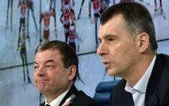 Сергей Кущенко и Михаил Прохоров © РИА Новости, Александр Вильф
