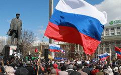 Митинг на площади Ленина в Донецке © РИА Новости, Ирина Горбасева