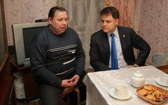 Александр Солнцев и Владимир Груздев. Фото с сайта gruzdev.ru