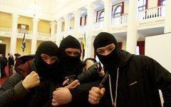 Бойцы «Правого сектора». Фото из официальной группы движения «ВКонтакте»