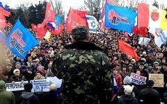 Митинг в Одессе. Фото с сайта vk.com