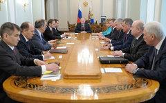 Заседание Совета безопасности РФ. Фото с сайта kremlin.ru