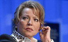 Валентина Матвиенко. Фото пользователя Flickr World Economic Forum
