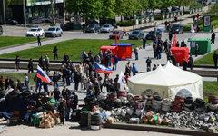 Сторонники федерализации в Донецке © РИА Новости, Наталья Селиверстова