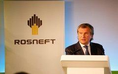 Игорь Сечин. Фото с сайта rosneft.ru