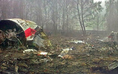 Обломкипольского самолета. Фото Bartosz Staszewski с сайта wikimedia.org