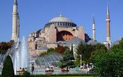 Собор Святой Софии в Стамбуле. Фото пользователя Flickr Jerzy Kociatkiewicz
