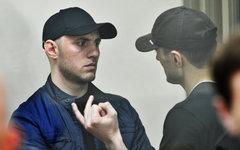 Магомед и Хизар Даурбековы на суде © РИА Новости, Сергей Пивоваров