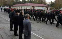 Первый батальон Нацгвардии Украины. Фото со страницы Андрея Парубия в Facebook