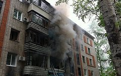 Место ЧП. Фото с сайта 27.mchs.gov.ru