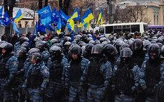 Бойцы отряда «Беркут». Фото Дениса Панченко из Instagram