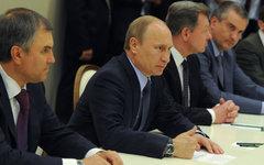 В.Путин на встрече с представителями общин крымских татар © РИА Новости