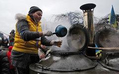 Полевая кухня на Майдане © KM.RU, Алексей Белкин
