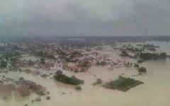 Наводнение на Балканах. Фото пользователя Twitter @MiaJ55