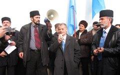 Выступление представителей крымско-татарского народа. Фото с сайта ru.tsn.ua