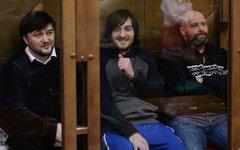 Рустам Махмудов, Ибрагим Махмудов и Сергей Хаджикурбанов © РИА Новости,Алексей