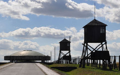Концентрационный лагерь Майданек. Фото Krzysztof Kokowicz с сайта wikimedia.org