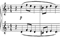Начало третьего концерта С. Рахманинова. Фото с сайта wikipedia.org