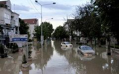 Затопленный город Обреновац в Сербии © РИА Новости, Николай Соколов