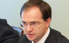 Владимир Мединский. Фото с сайта mkrf.ru