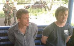 Олег Сидякин и Марат Сайченко. Фото пользователя Facebook Владислава Селезнева