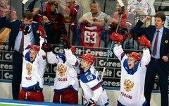 Участники сборной России по хоккею © РИА Новости, Алексей Куденко