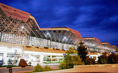 Международный аэропорт Сочи. Фото Марии Талановой с сайта wikimedia.org