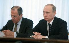Сергей Лавров и Владимир Путин. Фото с сайта kremlin.ru