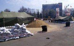 Лагерь ополченцев на Куликовом поле. Фото с сайта timer.od.ua
