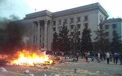 Дом профсоюзов в Одессе. Фото пользователя Facebook Віталій Уманець