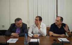 На экстренном заседании парламента Абхазии © РИА Новости, Михаил Мокрушин