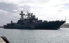Большой противолодочный корабль «Маршал Шапошников». Фото с сайта mil.ru