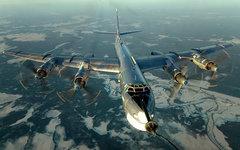 Бомбардировщик Ту-95. Фото с сайта mil.ru