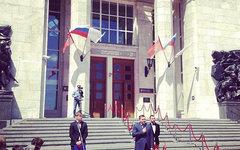 Открытие Волгоградского вокзала. Фото пользователя Instagram stukalov_sergey
