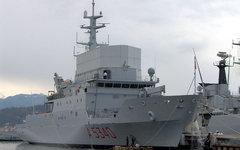 Разведывательный корабль «Элеттра». Фото Jorge Guerra Moreno с сайта wikimedia.o