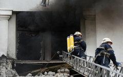 Ликвидация пожара в Луганске © РИА Новости, Евгений Биятов