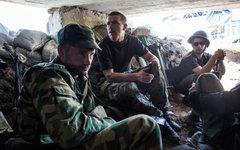 Бойцы народного ополчения © РИА Новости, Андрей Стенин