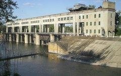 Плотина на канале Канал Северский Донец — Донбасс. Фото с сайта wikipedia.org