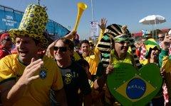 Болельщики сборной Бразилии © РИА Новости, Алексей Филиппов