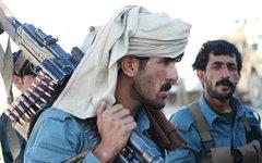 Афганские полицейские. Фото с сайта marines.mil