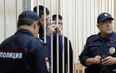 Бывшие сотрудники ОП «Дальний» © РИА Новости, Максим Богодвид