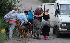 Эвакуация жителей Луганской области © РИА Новости, Евгений Биятов
