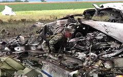Обломки Ил-76 ВВС Украины. Кадр канала «Россия 24»