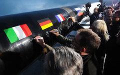 Газопровод «Южный поток» © РИА Новости, Рамиль Ситдиков